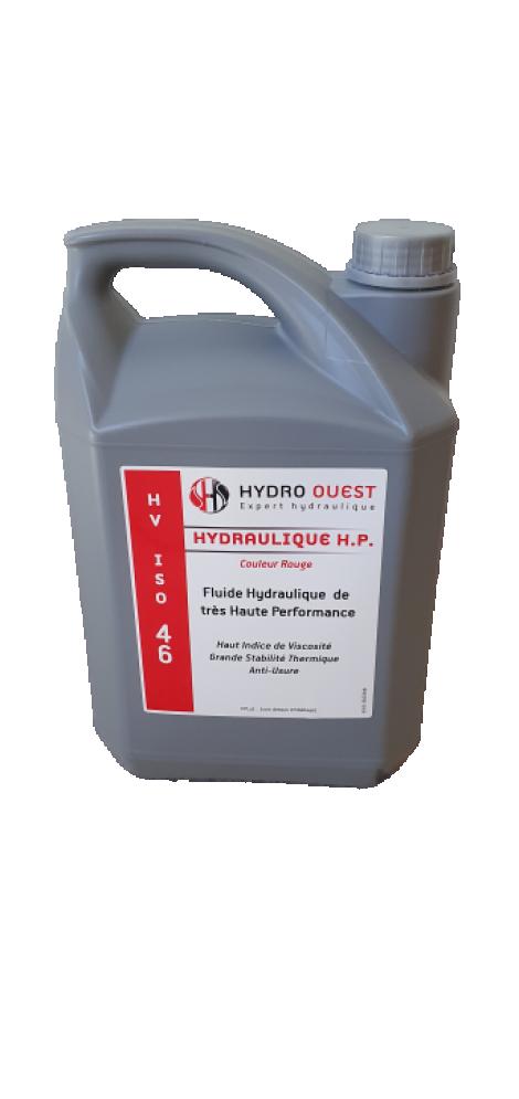 HUILE HYDRAULIQUE HV46 ROUGE - BIDON DE 5L